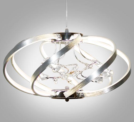 HA918 Martinic Kristall Decken-Hänge-Lampe 46 cm x max 1000cm(H)