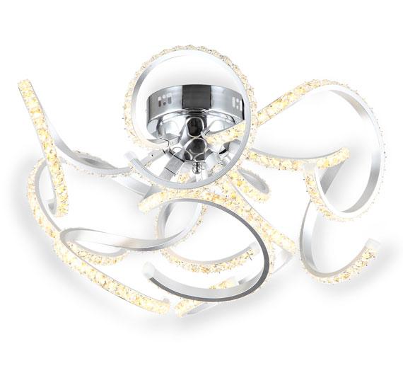 HA936 Domera LED Kristall 60 cm Deckenlampe