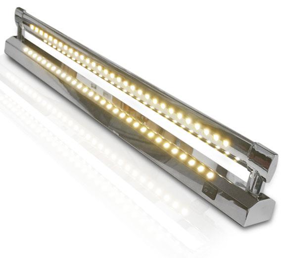 Variation BG-C113 10-18W Wandleuchte Spiegelleuchte 480- 780mm mit 2 LED Leisten