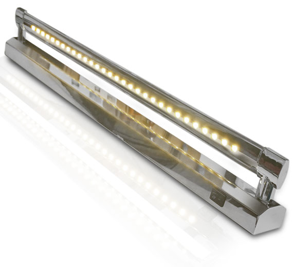 Variation BG-C113 , 5-7W Wandleuchte Spiegelleuchte 480- 630mm mit 1 LED Leiste
