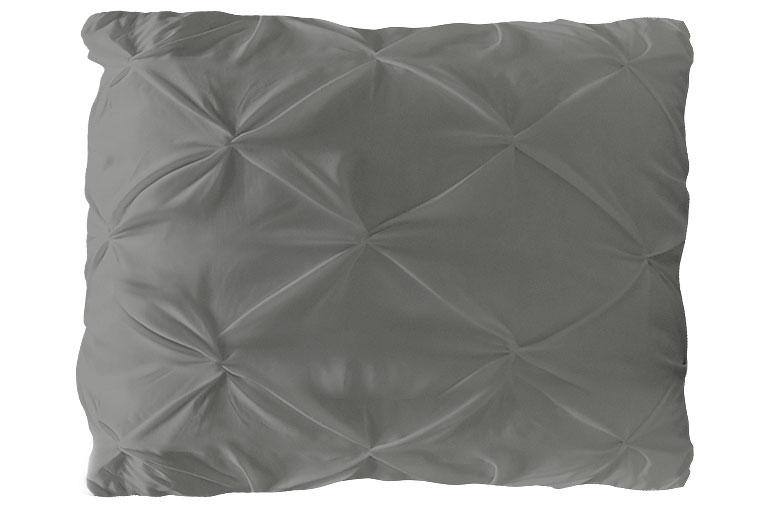 Kissenbezug, Modell : NODES, Farbe: GRAU , 80*80cm