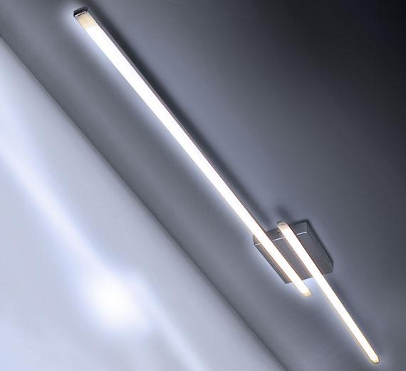 HA112  PRINCEPS [6500K Kaltweiß] 24W LED Deckenleuchte  145 x 10 cm