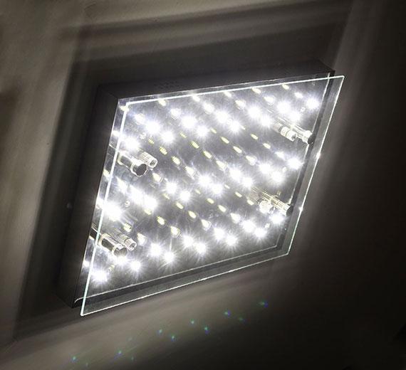 HA303 LED 18W BOOMER-3 Deckenleuchte/Wandleuchte 35x 5 cm