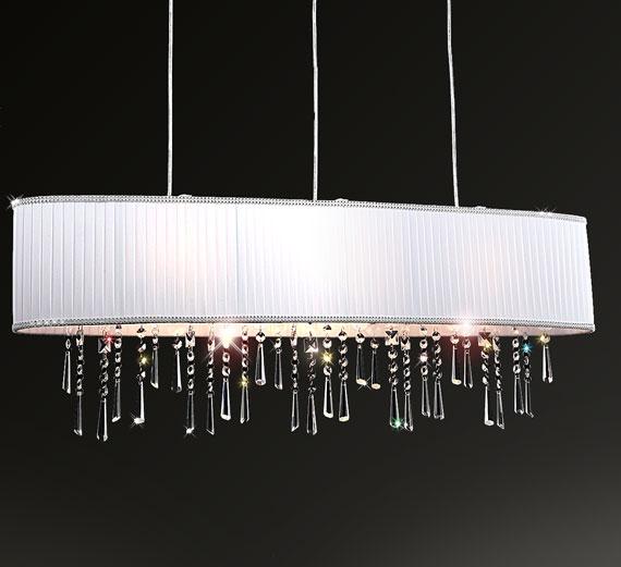 HA437 Emilara LED Deckenleuchte Hängeleuchte 100x18cm