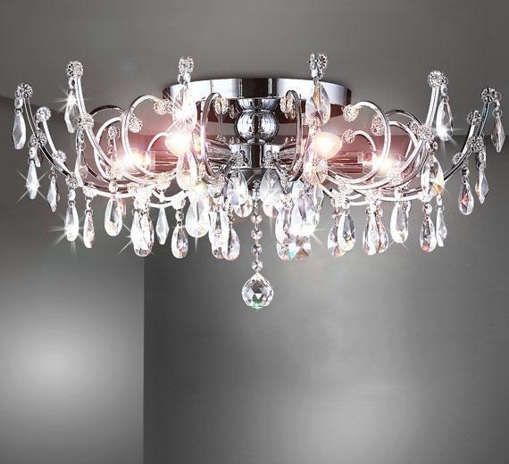 HA446 AMBER Kristall Kronleuchter/ Deckenlampe/ Deckenleuchte Ø60cm