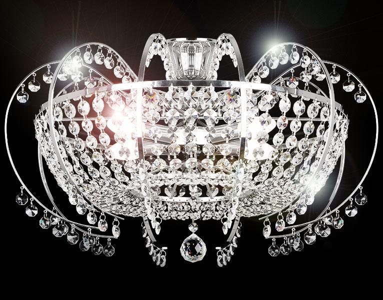 58cm sharleen xl klassischer kristall l ster kronleuchter deckenleuchte leuchte ebay. Black Bedroom Furniture Sets. Home Design Ideas