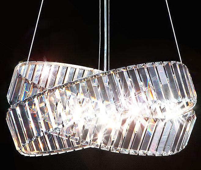orbix moderner design kristall pendelleuchte h ngeleuchte l ster kronleuchter ebay. Black Bedroom Furniture Sets. Home Design Ideas