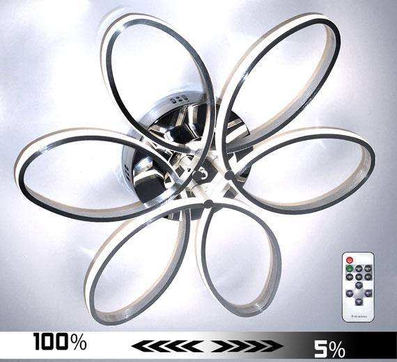 HA926 Sakura [4000K Neutralweiß] Led Deckenleuchte Ø60cm Dimmbar + FB