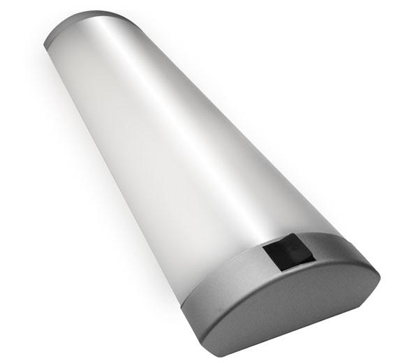 LED 10-23W Halbrohr Unterbauleuchte 350mm-850mm Eckleuchte Lichtleiste