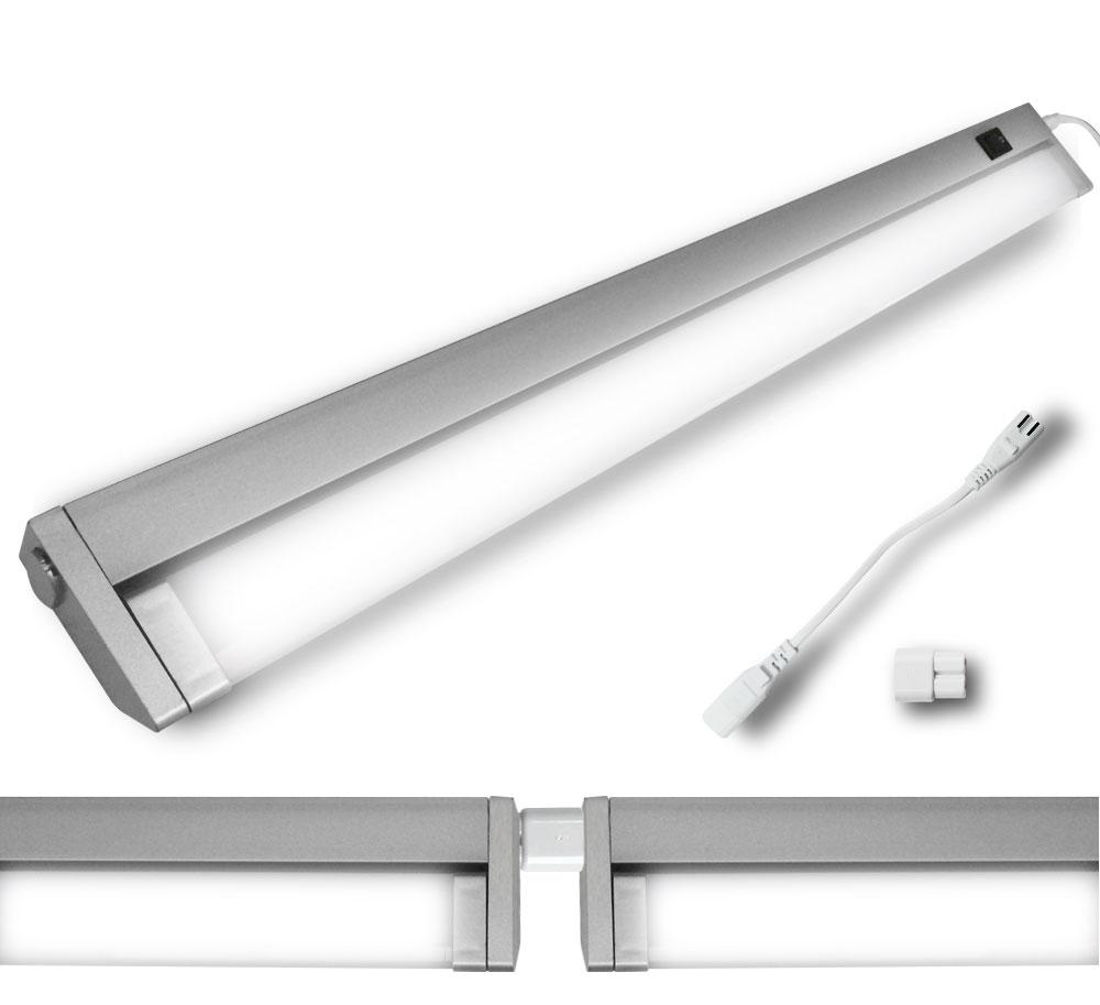 unterbau leuchte led schwenkkopf schwenkleuchte b roleuchte lampe schwenkbar ebay. Black Bedroom Furniture Sets. Home Design Ideas