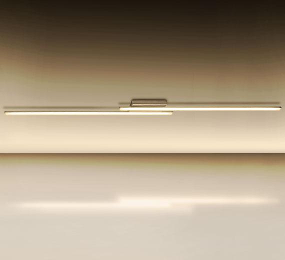 Xxl led design deckenleuchte deckenlampe st be wohnzimmer for Deckenleuchte lang led