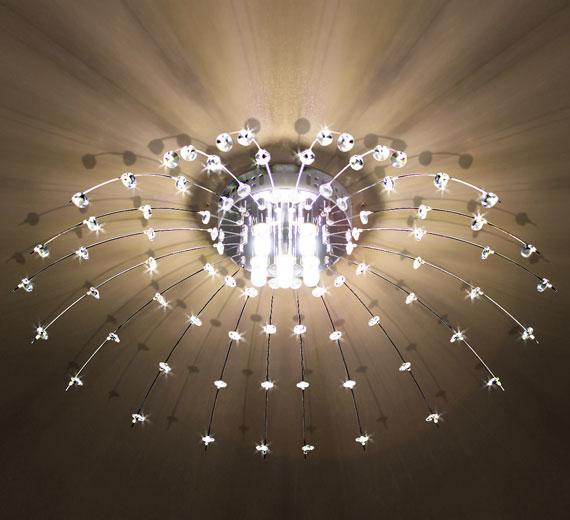 HA179 VANALIS LED Kristall Deckenlampe Deckenleuchte Lüster Ø 60 cm