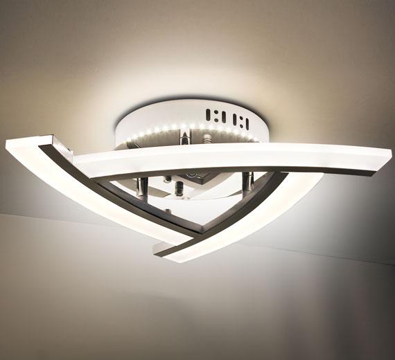 HA731 ATIKA LED Deckenleuchte  30W 45cm  x 11 cm(H)