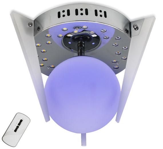 HA733 MAPIRA LED Deckenleuchte 30x22cm (BxH) Farbwechsel/Fernbedienung