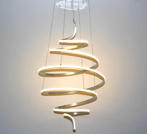 HA905 Espira LED Deckenleuchte 60 x 100 cm(BxH) Spyralfärmig