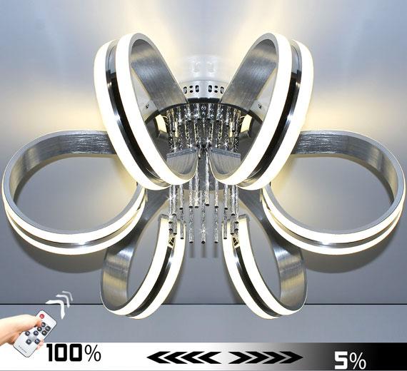 HA955 [4000K Neutralweiß] 50W Franka LED Deckenleuchte 55 x 25(H) cm