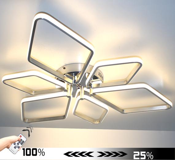 HA925W Triberg [3000K Warmweiß] Led Deckenlampe Ø85cm Dimmbar + FB