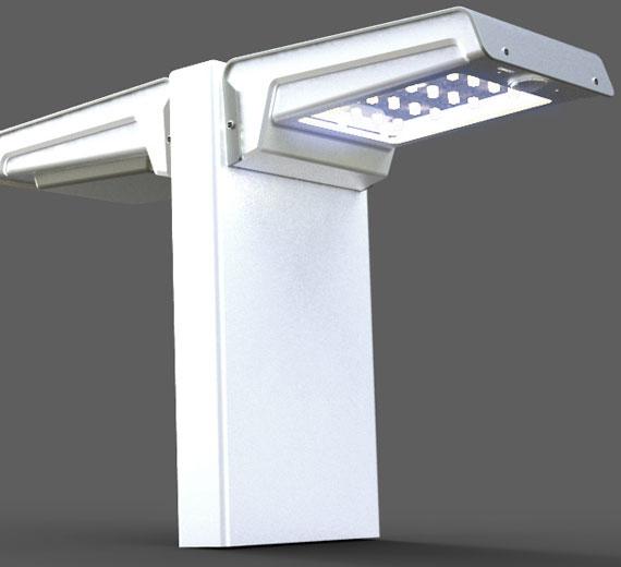 led solar bewegungsmelder au enleuchte wandleuchte. Black Bedroom Furniture Sets. Home Design Ideas