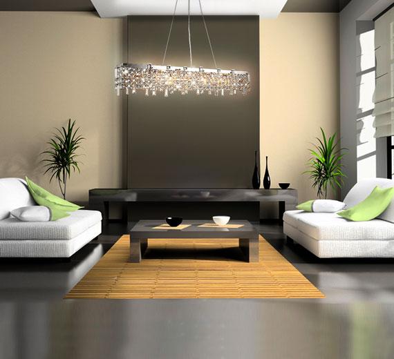 led design glas kristall deckenleuchte leuchte h ngeleuchte kronleuchter lampe ebay. Black Bedroom Furniture Sets. Home Design Ideas