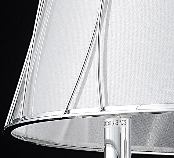 design lampenschirm kronleuchter glas kristall deckenleuchte lampe l ster 50cm ebay. Black Bedroom Furniture Sets. Home Design Ideas
