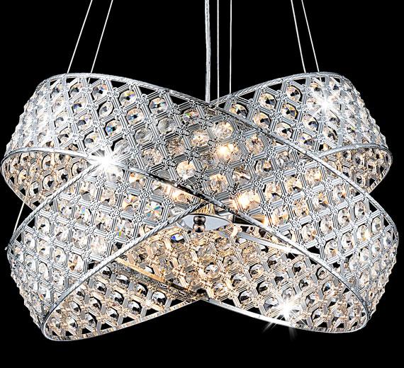 led luxus kristal deckenleuchte 2 ringe leuchte h ngeleuchte kronleuchter l ster ebay. Black Bedroom Furniture Sets. Home Design Ideas