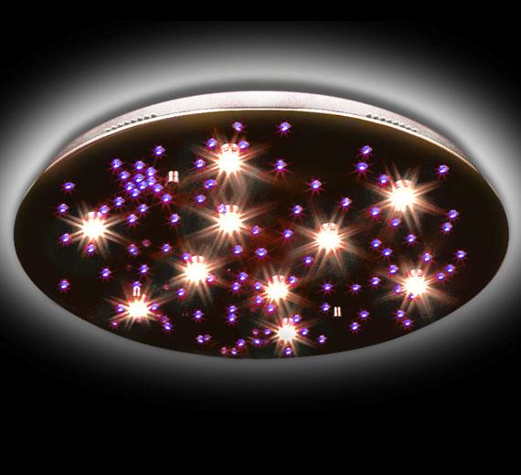 led sternenhimmel farbwechsel deckenleuchte deckenlampe fernbedienung leuchte ebay. Black Bedroom Furniture Sets. Home Design Ideas