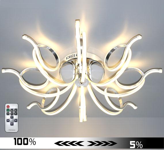 HA901 INFLEXUM [3000K Warmweiß] LED 84cm Deckenlampe Dimmbar + Fernbedienung