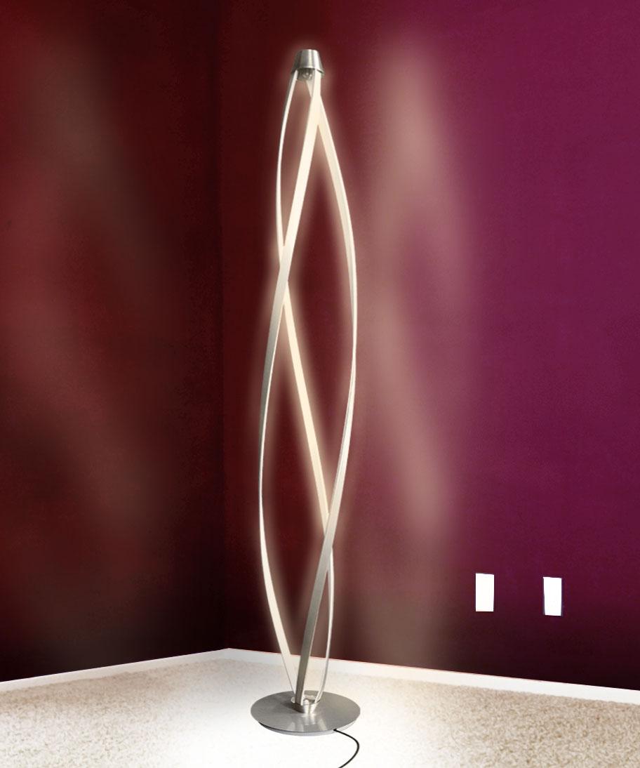 Led Stehleuchte Standlampe Standleuchte Dimmbar 140cm 1900lm