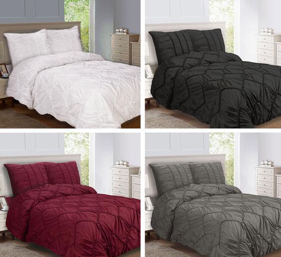 3d bett berwurf 240x260 tagesdecke berwurfdecke berdecke biesen luxus variant ebay. Black Bedroom Furniture Sets. Home Design Ideas