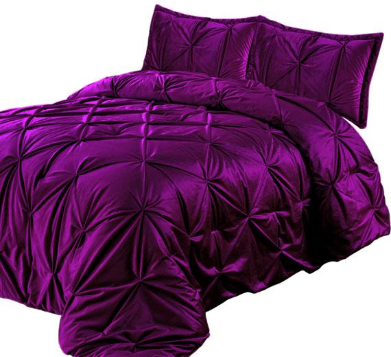 Bettüberwurf / Tagesdecke Modell : PINTUCK, Farbe: AMARATH 3TLG  240x260cm